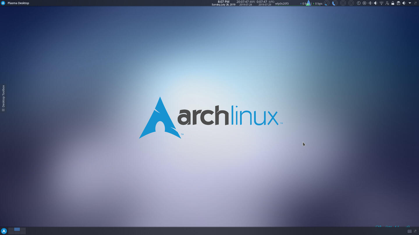 Arch Linux Review [20190701 Bootstrap Image] | ORDINATECHNIC