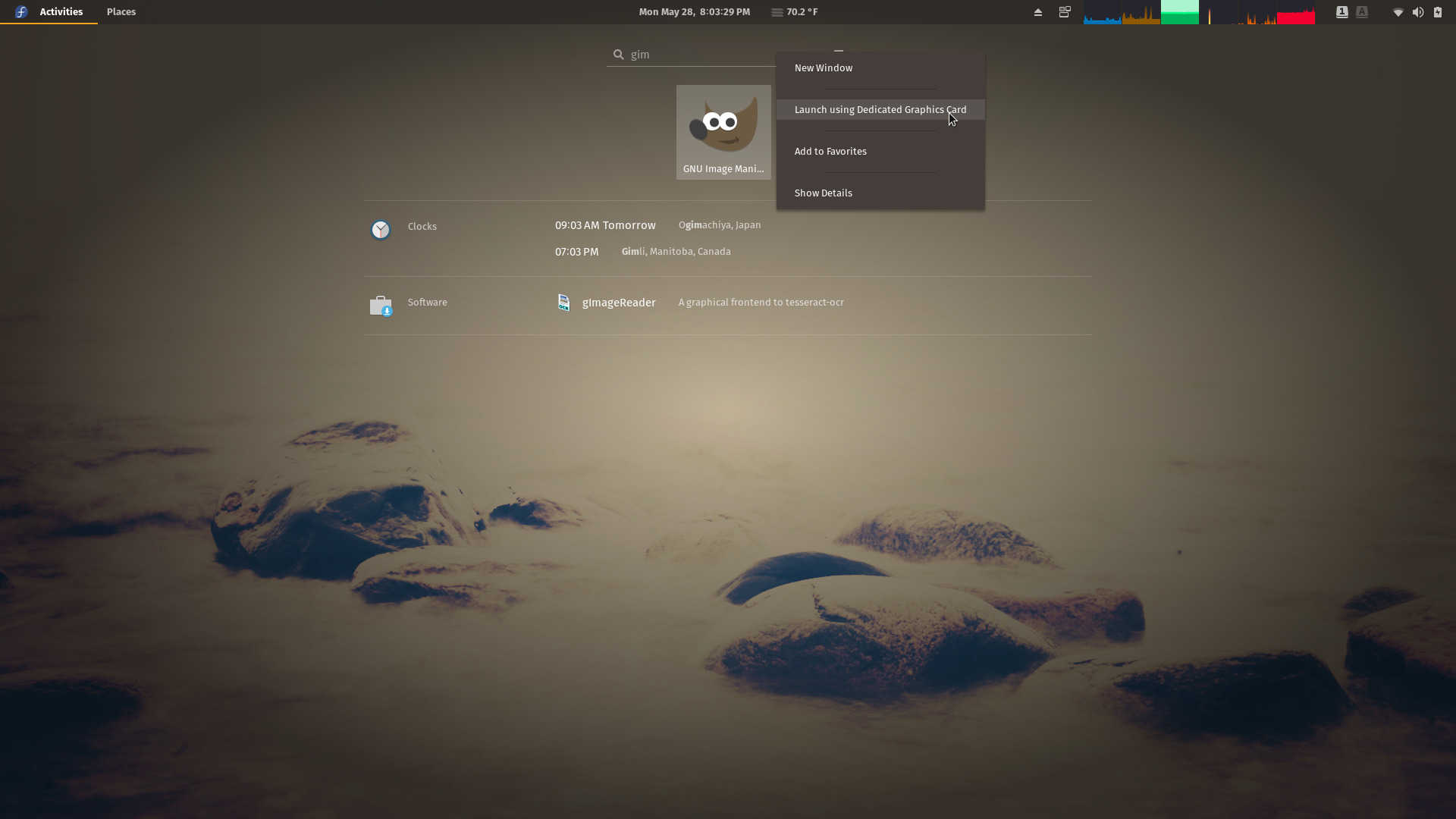 Fedora 28 Workstation Review | ORDINATECHNIC