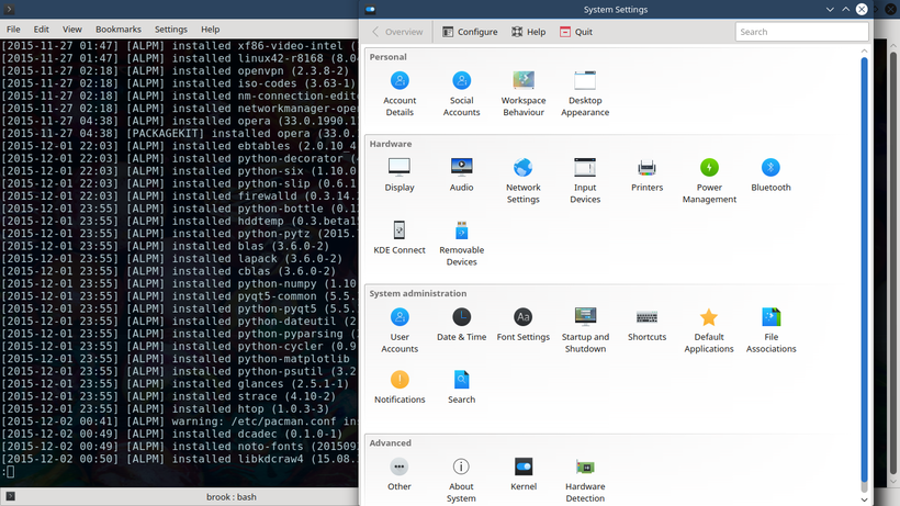 openSUSE Leap 42.1 new GRUB theme