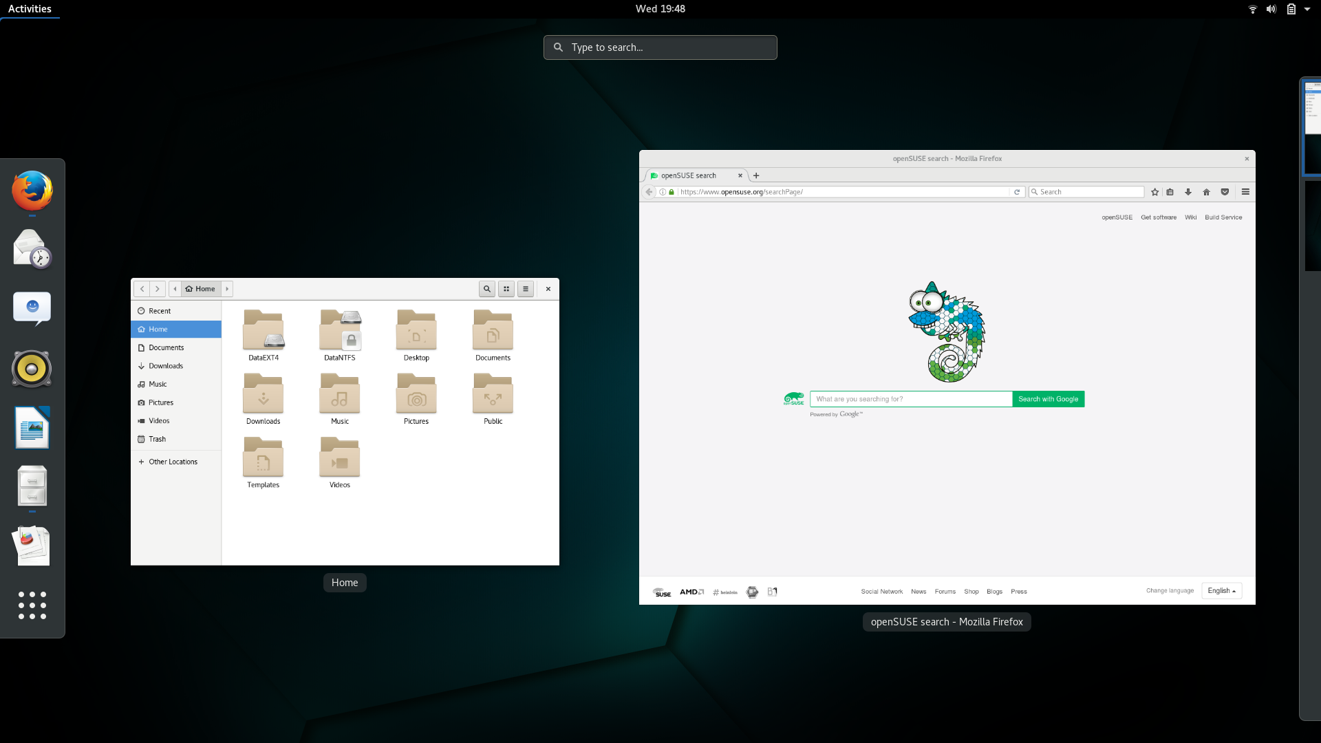 openSUSE Tumbleweed [Snapshot 20161204] Review | ORDINATECHNIC