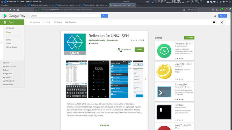 Reflection for UNIX [Android Edition] Review | ORDINATECHNIC